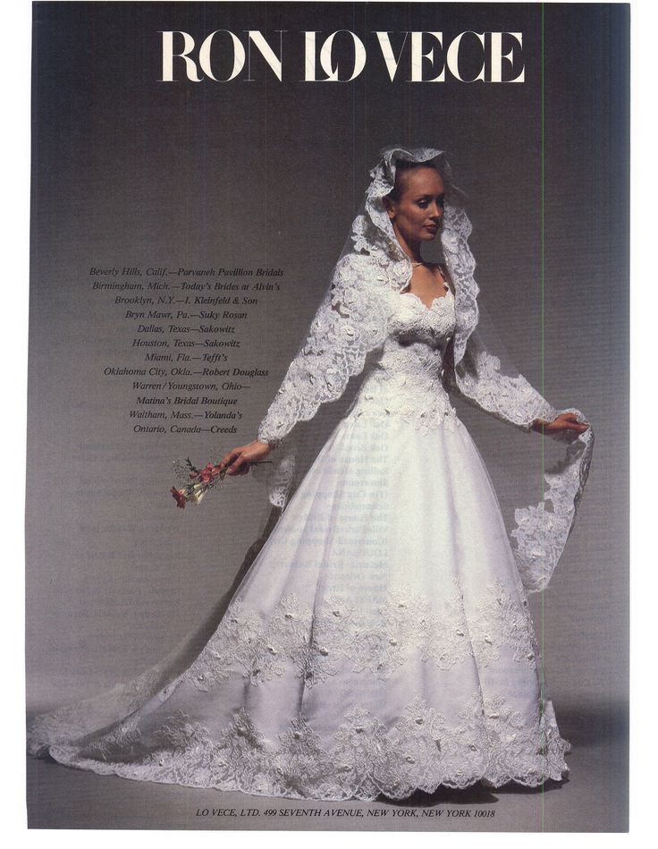 347 Best Images About 1980s Wedding Dress On Pinterest