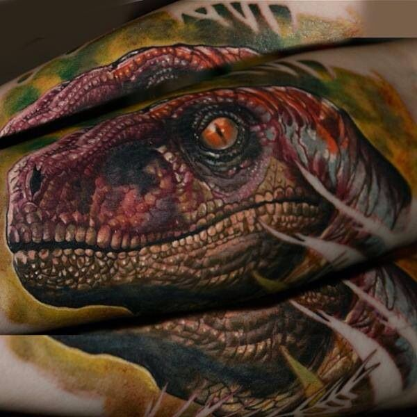 Raptor Tattoo | Amazing Tattoo Art | Pinterest | Raptors ...