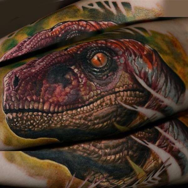 Raptor Tattoo | Amazing Tattoo Art | Pinterest | Raptors ...