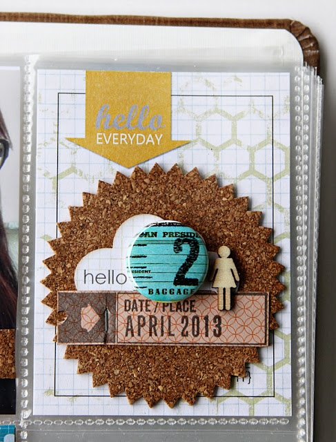 LOVE the layers! You can still have layers with the project life method of scrapping! - shopEvalicious.com