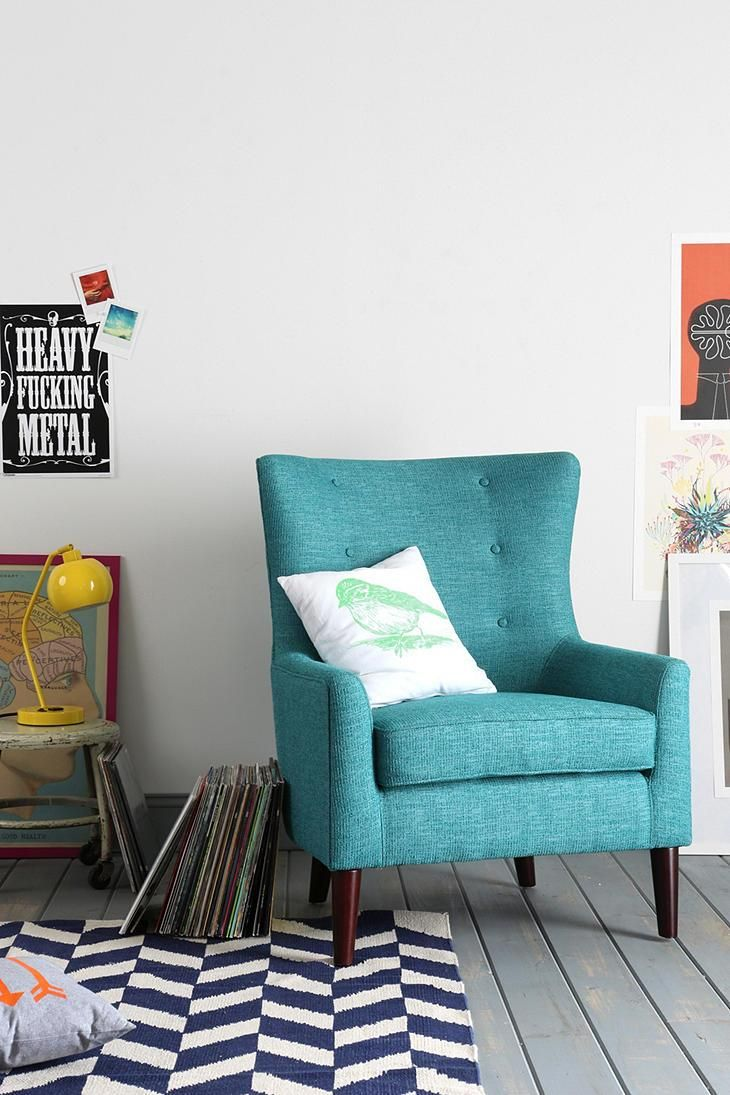 best 25 teal armchair ideas on upholstered 47872