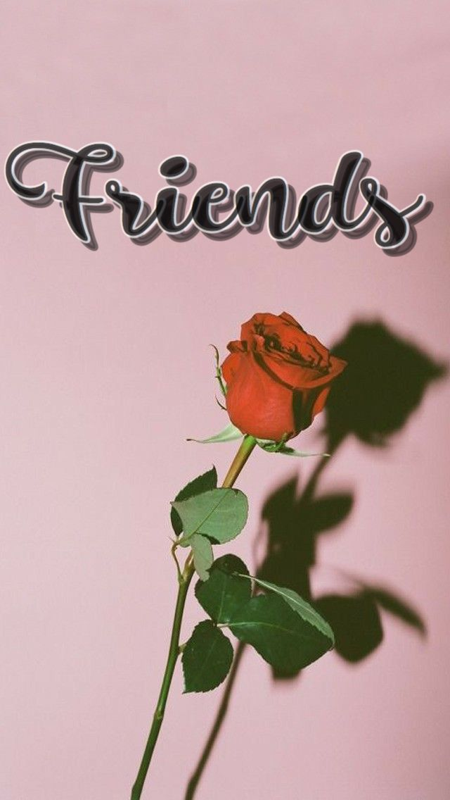 Other Half Of The Best Friends Cute Pink Wallpaper For Iphone Friends Wallpaper Cute Couple Wallpaper Best Friend Wallpaper