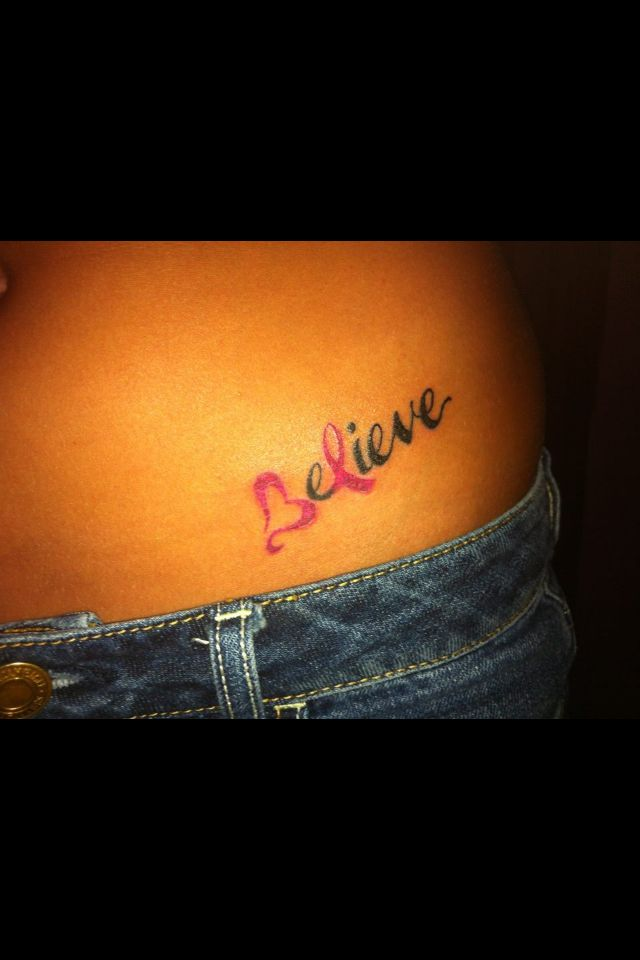Believe there will be a cure for breast cancer  love this idea. Also do a purple ribbon for all cancer!!!