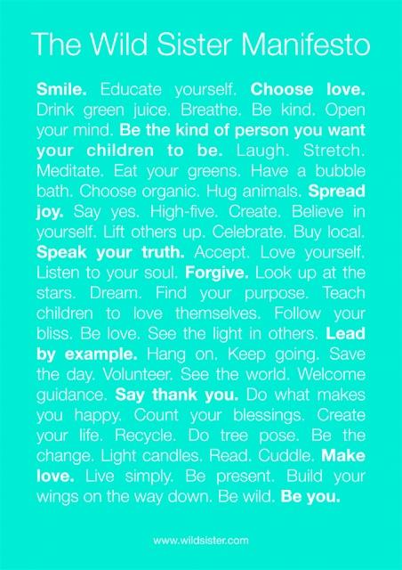 Mama Nature: Be wild. Be You. Wild Sisterhood Magazine + Community/Network ofinspiring women & their artistic wholistic and organic businesses