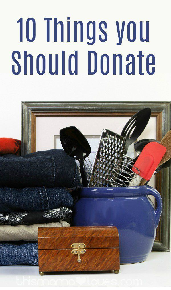 10 Things You Should Donate that will be useful to others- not all donations are created equal