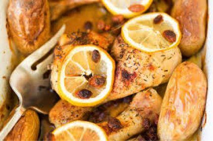 Paleo recept voor warme dagen: kipfilet met citroen