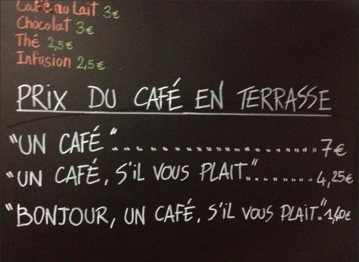 Politeness Is Rewarded at the Le Petite Syrah Cafe in Nice, France