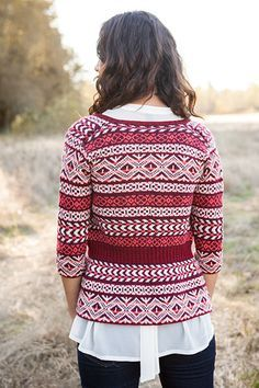 Mesmeric Cardigan - Knitting Patterns and Crochet Patterns from KnitPicks.com by Edited by Knit Picks Staff On Sale