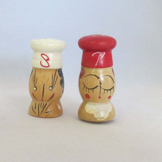 1000 Images About Vintage Novelty Salt And Pepper Shakers