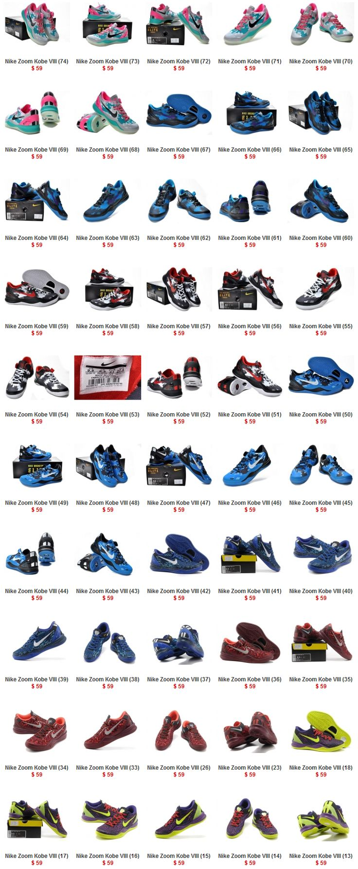 finest selection a4c19 a37d1 Nike Zoom Kobe 8 shoes page 4