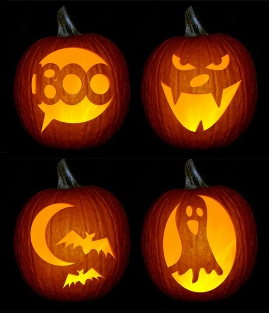 Pumpkin Carving Ideas Science: 43 Best Silhouettes-Halloween Images On Pinterest