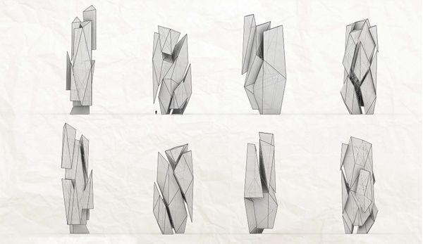 SCI-Arc, Southern California Institute Of Architecture, Los Angeles, California, Segregated Monoliths, final thesis, Alex Phi, monolith str...