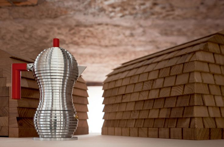 World of accessories:  Pulcina, an extraordinary coffee maker by Alessi and Illy |