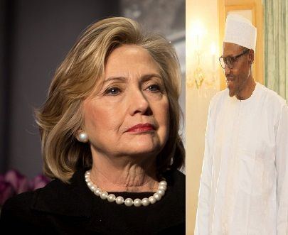 FEAR OF BIAFRA- BUHARI SPENDS MILLIONS OF DOLLARS FUNDING HILLARY CLINTON'S PRESIDENTIAL CAMPAIGN