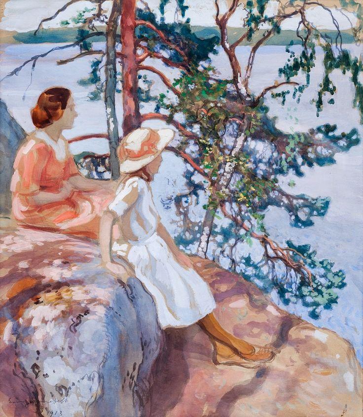 La Sortie en Famille ~  Eero Järnefelt ~ (1863-1937)