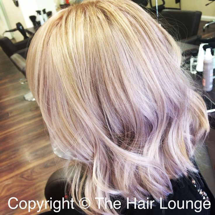 Ash Blonde With Wella Instamatic Smokey Amethyst Amp Pink