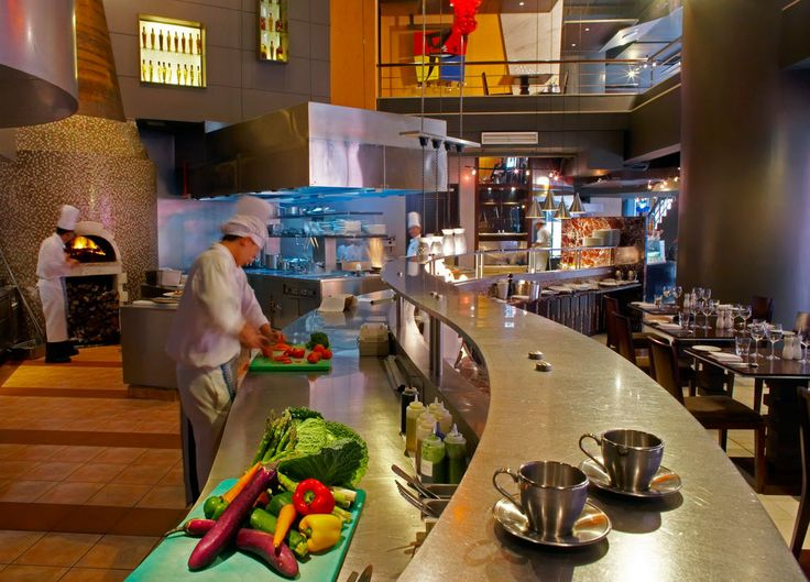 Home Interior, The Open Kitchen Concept for Our Home: Open Kitchen Restaurant
