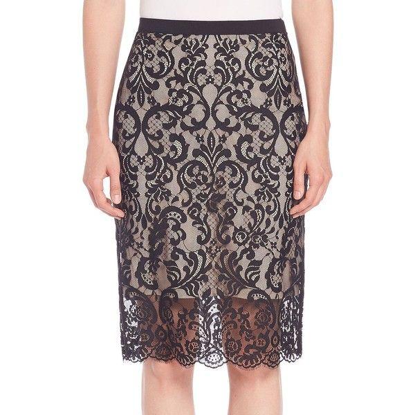 Best 25  Long black pencil skirt ideas on Pinterest | Long black ...