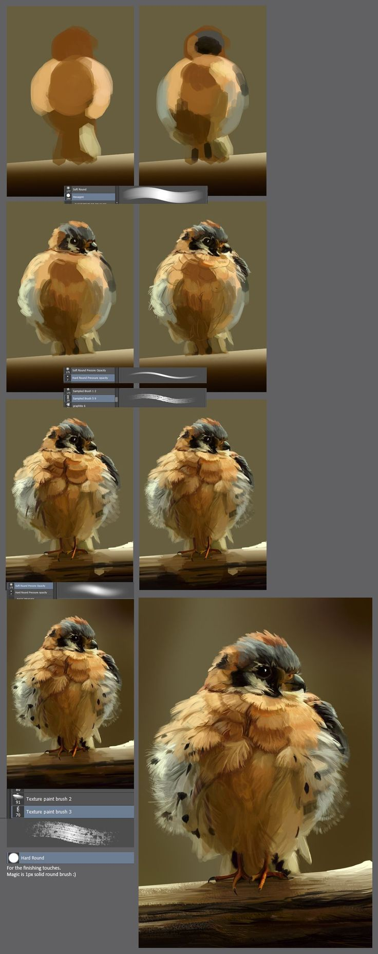 The little angry bird: step by step tutorial by XGingerWR on DeviantArt