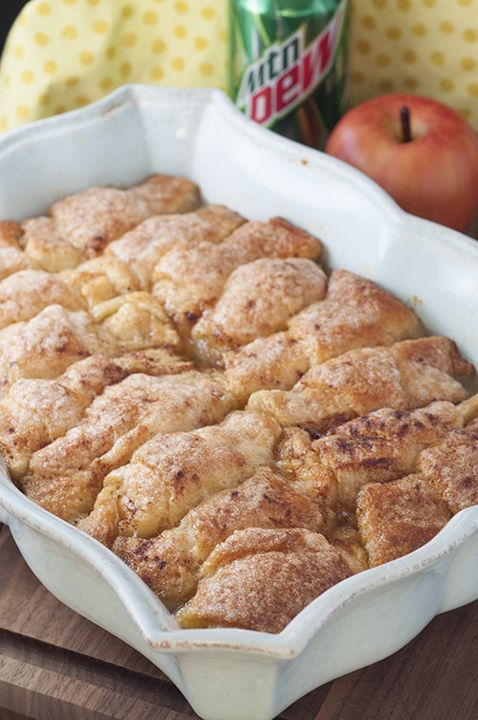 Simple Country Cinnamon Apple Dumplings dessert or breakfast recipe is a classic fall and holiday treat loaded with cinnamon and smothered in a buttery cinnamon glaze!