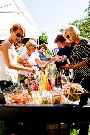 Bloody Mary Bar - good list of ingredients!