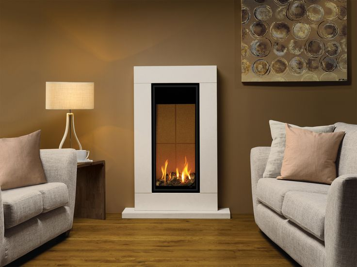 The Stunning Glass Fronted Studio 22 Gas Fire Offers Option Of Adding Portrait Styling To