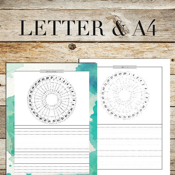 CIRCULAR LETTER PLANNER PRINTABLE  ► This is a DIGITAL item and no physical item will be shipped to you.  ---------------------------------------------------------------------------------------------------------  YOU IDEAS OR CUSTOM ORDERS CAN GET A REWARD: If you have an idea and feel free to send it to me:  3 star ideas will get a freebie of their idea and a discount coupon 2 star ideas will get a freebie 1 star ideas will get a bonus discount coupon *** I will rate it…