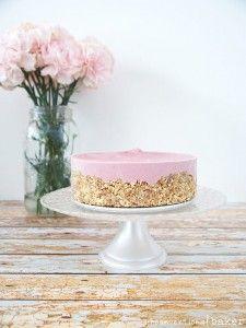 Raw Strawberry Cheesecake {Gluten-Free, Vegan, Paleo, SCD, Refined Sugar-Free}