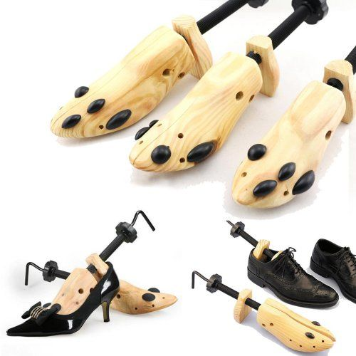 Shoe Stretcher Pair, Women, Size 5-10, 2-Way, Length & Width, Wood, Shoe Stretch - http://darrenblogs.com/2016/01/shoe-stretcher-pair-women-size-5-10-2-way-length-width-wood-shoe-stretch/