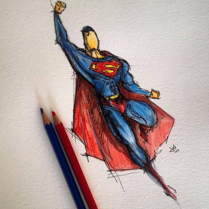 Superman   Beautiful Sketches