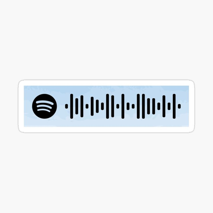 Wonder by shawn mendes spotify scan code sticker by