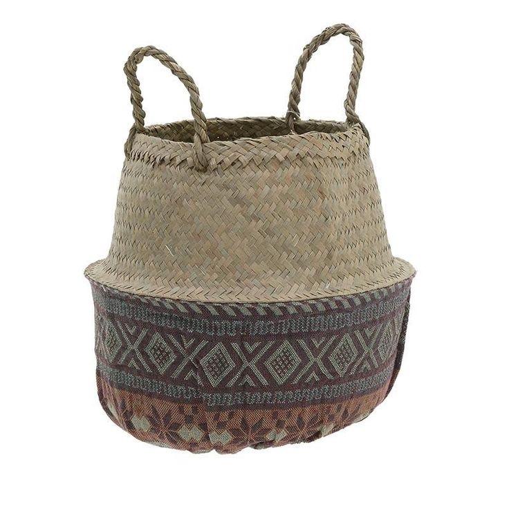 Sea Grass Bag/Basket - inart