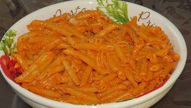 Cuisine chic et simple: Pâtes en sauce crémeuse aux tomates et à la vodka de Primo