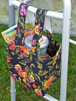 Walker tote. Pic only. No tutorial