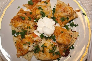 Chi Chi's seafood nachos!  I LOVED these as a kid!!!!