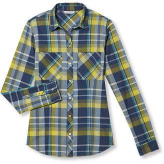 Signature Women's Madras Shirt, Long-Sleeve - Shop for women's Shirt - Clementine Shirt