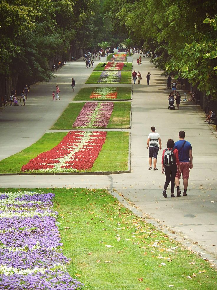 The Sea Garden park, in Varna