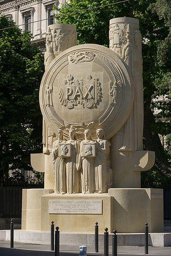 monument à la Paix, Marseille