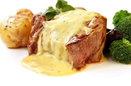 Bearnaise is the best sauce! I would eat this meal every day if I could!