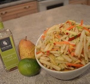 #Trending on our Roku channel this week: How to Make #Jicama #Apple & #Pear #Slaw! #sidedish #healthy   * Subscribe to Cooking With Kimberly: https://www.rokuguide.com/channels/cooking-kimberly #cookingwithkimberly