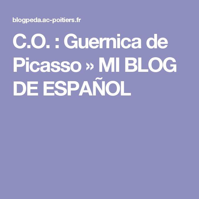 C.O. : Guernica de Picasso » MI BLOG DE ESPAÑOL