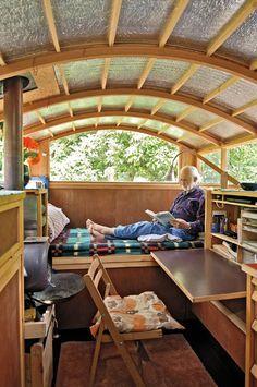 Sustainable Small House Design - tinyhousecanada: Lloyd Kahn finds little homes...