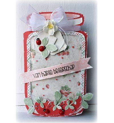 Scrapbookdepot - Dutch Doobadoo Card Art Cookie Jar - dd470713609 - Dutch Doobadoo - Dutch Doobadoo
