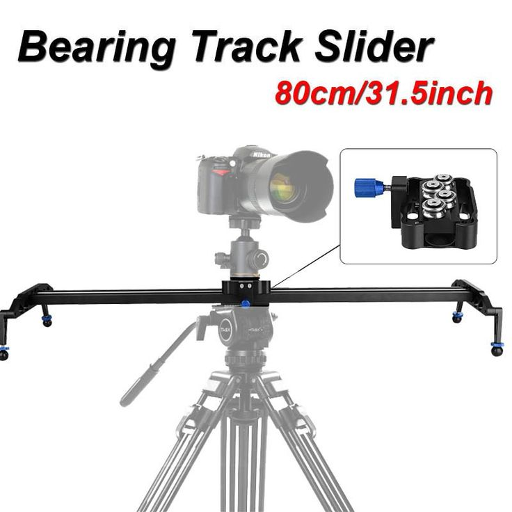 """Discount! US $87.29  Professional 80cm/31.5"""" Bearing Video Track Slider Dolly Stabilizer System for DSLR Camera Camcorder / Better Than Sliding-pad  #Professional #Bearing #Video #Track #Slider #Dolly #Stabilizer #System #DSLR #Camera #Camcorder #Better #Than #Slidingpad  #OnlineShop"""