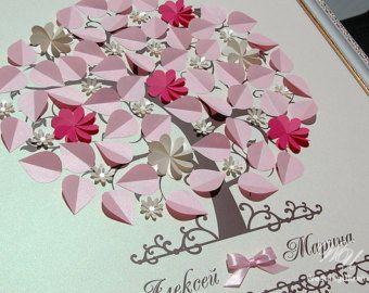 Wedding Guest Book Ideas Shadows of mint by WeddingUkraine