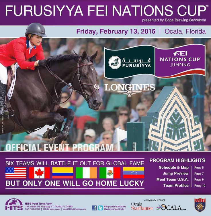 Furusiyya FEI Nations Cup, presented by Edge Brewing Barcelona Official Event Program by HITS, Inc. (equestrian and endurance) - issuu