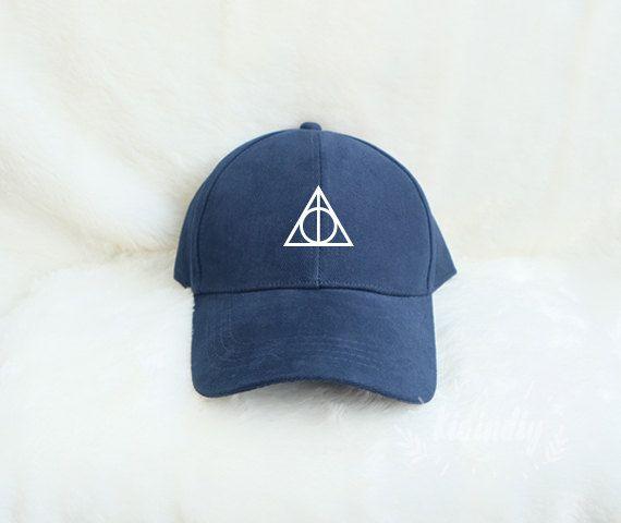 Reliques de la mort Harry Potter casquette chapeau brodé de Baseball Caps coton…