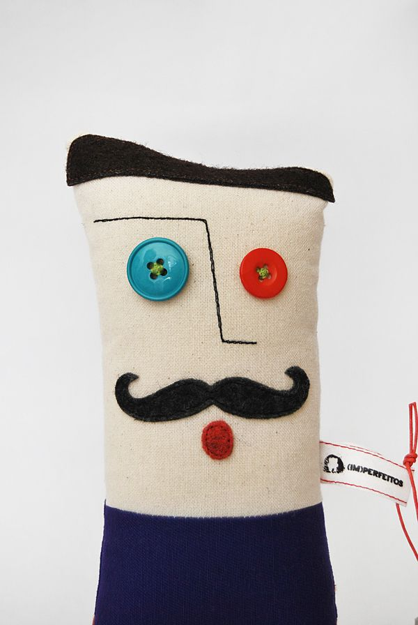 IMPERFEITOS - CRAFT & HANDMADE TOYS by INELO Design Studio, via Behance