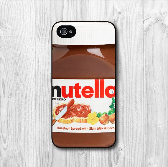 Nutella Bottle iPhone 4 case iPhone 4s case Chocolate by CasePapa, $6.99