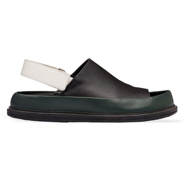 Marni Sandals (1.885 BRL) ❤ liked on Polyvore featuring men's fashion, men's shoes, men's sandals, mens velcro strap shoes, mens velcro sandals, marni mens shoes, mens velcro shoes and mens leather shoes